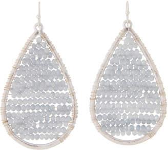 Schiff Marlyn Teardrop Full Beaded Earrings