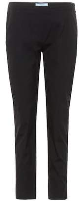 Prada Cotton poplin trousers