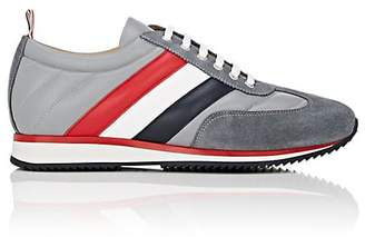 Thom Browne Men's Suede & Leather Sneakers