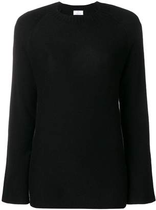 Allude flared sleeve sweater