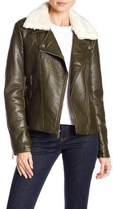 French Connection Pleather Jacket