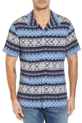 Surfside Supply Geo Print Sport Shirt