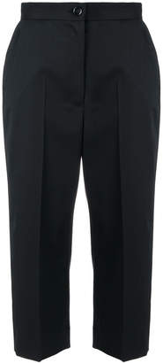 MM6 MAISON MARGIELA high waisted cropped trousers