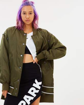Ivy Park Badge Logo Patch Jacket