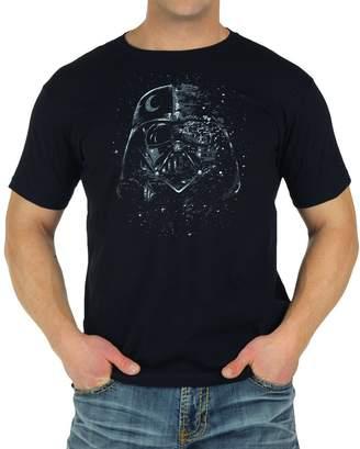 Mighty Fine Star Wars Darth Vader Broken Mask T-Shirt