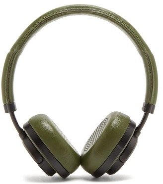 Master & Dynamic - Mw50 Leather On Ear Wireless Headphones - Mens - Green
