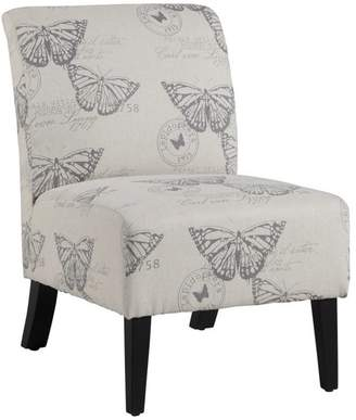 Actuelle Exton Chair With Printed Upholstery