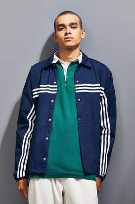 adidas 3-Stripe Button-Down Jacket