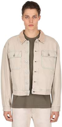 Yeezy Oversize Stone Washed Denim Jacket