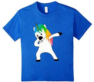 Rainbow Unicorn Dabbing For Christmas Funny T Shirt