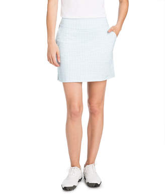 Vineyard Vines 17 Inch Painted Gingham Skort
