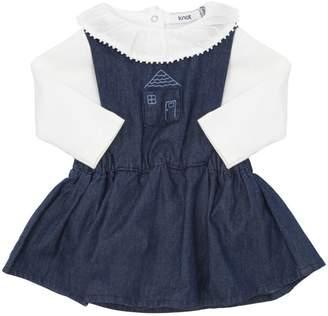 Chambray Dress & Cotton Bodysuit