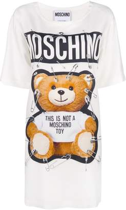Moschino safety pin Bear dress