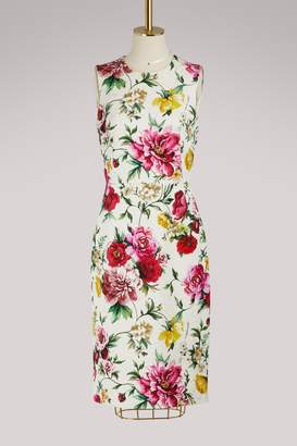 Dolce & Gabbana Flowers midi dress