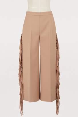 MSGM Fringed pants