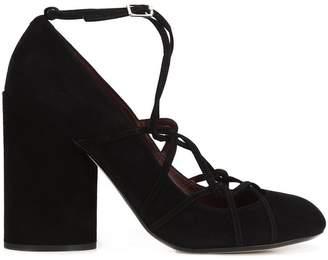 Marc Jacobs chunky heel pumps