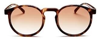 Le Specs Women's Teen Spirit Deux Round Sunglasses, 50mm