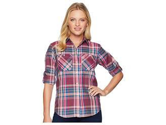 Lauren Ralph Lauren Petite Plaid Cotton-Twill Shirt