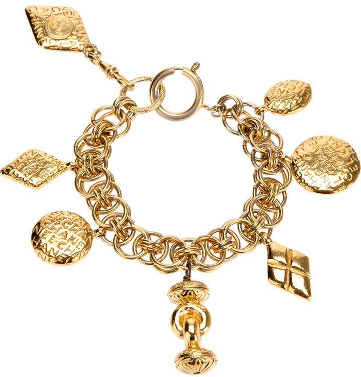 Chanel charm braclet