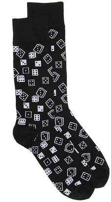 Hot Sox Dice Crew Socks - Men's