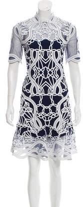Jonathan Simkhai Truss Embroidered Dress
