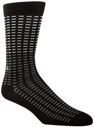 Calvin Klein Mens All Over Tiles Socks