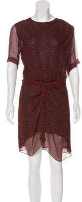 Etoile Isabel Marant Silk Polka Dot Dress