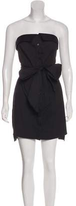 Milly Strapless Bustier Dress