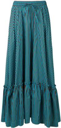 P.A.R.O.S.H. long striped skirt