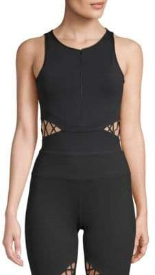 Electric Yoga Cut-Out Strappy Bodysuit