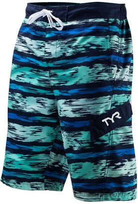 71554d17293e5 TYR Men's Paint-Striped Swim Trunks