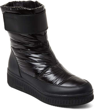 Calvin Klein Black Leonie Nylon Wedge Boots