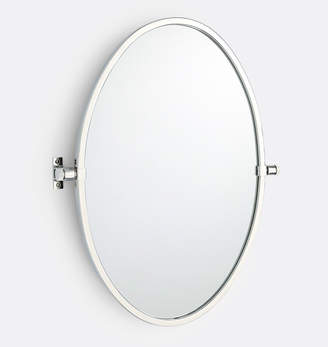 Rejuvenation West Slope Oval Pivot Mirror
