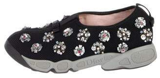 Christian Dior Fusion Embellished Sneakers Black Fusion Embellished Sneakers