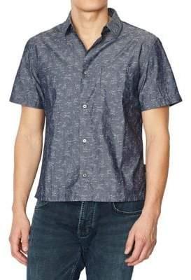 John Varvatos Trent Short Sleeve Sport Shirt