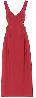 Ellery Romaneque wool-blend maxi dress