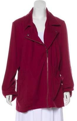 Halston H by Knit Zip-Up Jacket