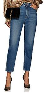 Care Label Women's Cindy High-Rise Boyfriend Jeans - Blue