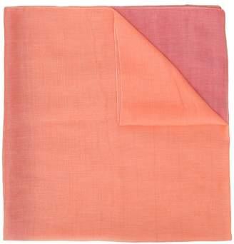Emporio Armani colour block scarf