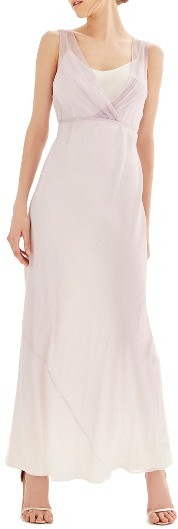 Topshop Women's Topshop Bride Silk Column Gown