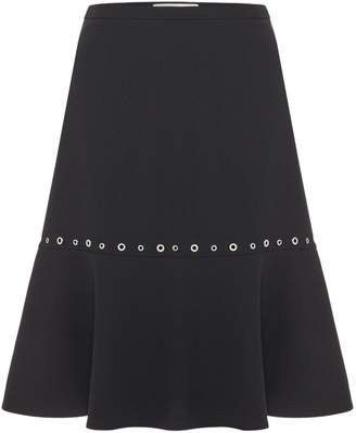 HUGO BOSS Menryke eyelet skirt