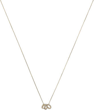 Adina Three Diamond Rings Necklace