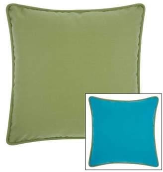"""Nourison Hook Pillow Sailboat, Multicolor, 18"""" x 18"""""""