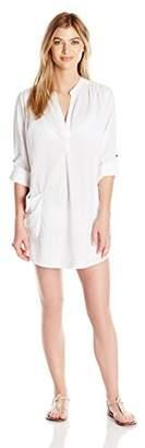 Seafolly Women's Basics Boyfriend Beach Shirt Swimsuit Cover up