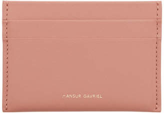 Mansur Gavriel Pink Credit Card Holder