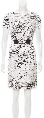 Blumarine Embellished Silk Mini Dress