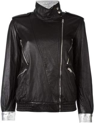 Saint Laurent zip detail jacket