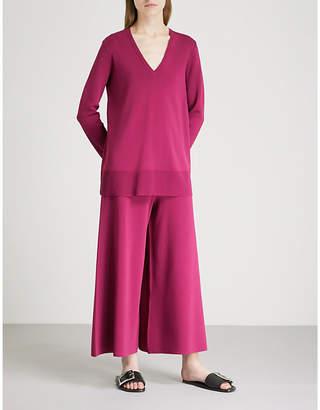 Theory Britona knitted top