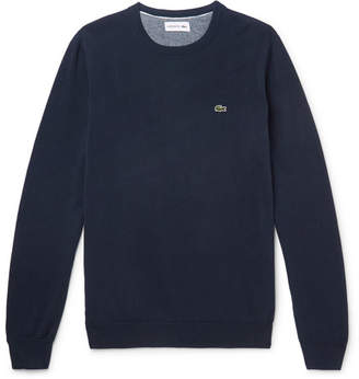 Lacoste Slim-Fit Cotton Sweatshirt
