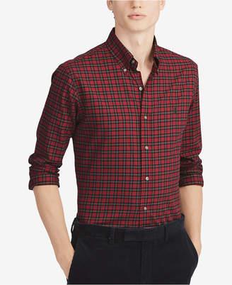 Polo Ralph Lauren Men Classic Fit Plaid Cotton Shirt